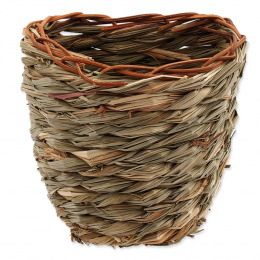 Hnízdo SMALL ANIMAL Košík travní pletené 15x10x15cm