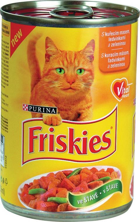 Friskies kuře+ledvin. 400g