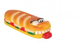 Hračka pro psy Trixie vinylová sendvič se zvukem 19cm