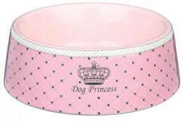 Miska keramická pro psy Trixie Dog Princess růžová 16cm*450ml
