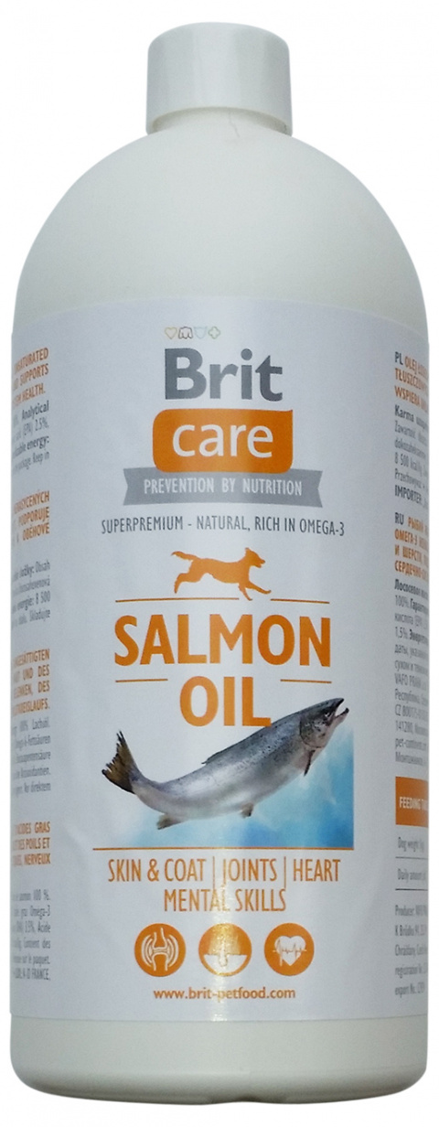 Lososový olej BRIT Care Salmon Oil 1000ml
