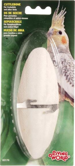 Kost sépiová Living World s držákem velká 1ks