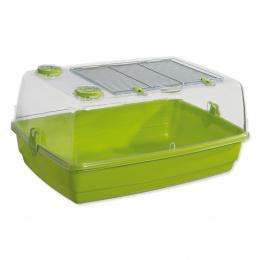 Box SMALL ANIMAL Tomáš zelený 56x38,5x25,5cm