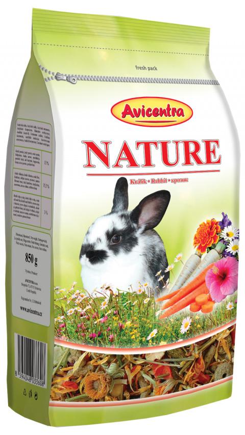 Krmivo AVICENTRA premium pro králíky 850g title=
