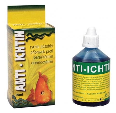 Anti-Ichtinl HU-BEN léčivo na krupičku 50ml title=