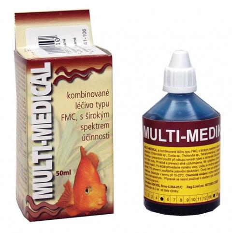 Multimedikal HU-BEN kombinované léčivo 50ml