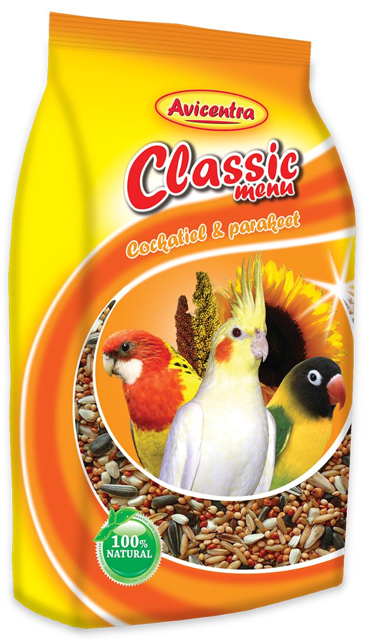 Krmivo AVICENTRA standart pro malé papoušky 1kg