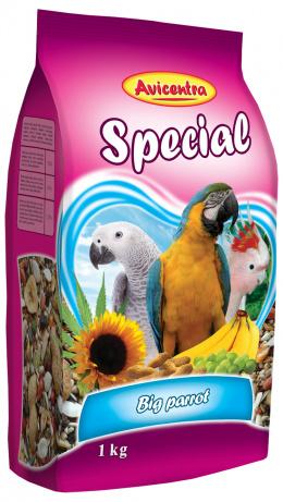 Krmivo AVICENTRA speciál pro velké papoušky 1kg