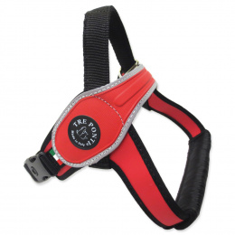 Postroj TRE PONTI reflexní od 30 do 40 kg červený