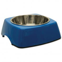 Miska DOG FANTASY nerezová čtvercová modrá M 0.35l