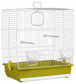 Klec BIRD JEWEL Klára bílo-zelená