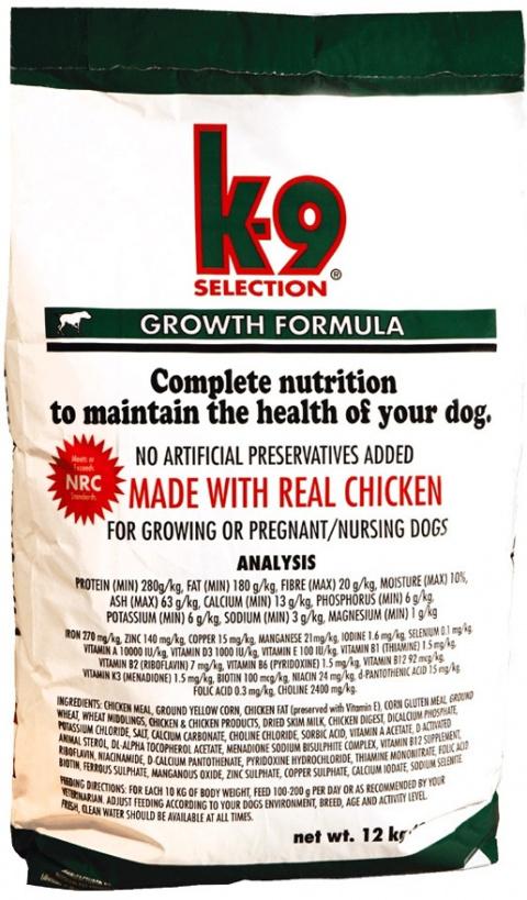 K-9 Growth 12kg