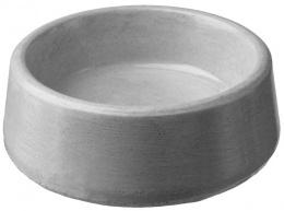 Miska BE-MI betonová kulatá 0,01l