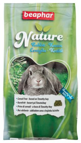 Krmivo Beaphar Nature králík 1,25 kg