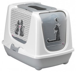 Toaleta Trendy 50x39,5x37,5 šedá