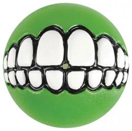 Hračka Rogz míček Grinz zelený L