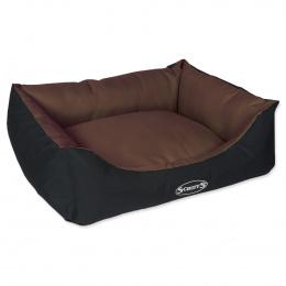 Pelíšek SCRUFFS Expedition Box Bed čokoládový 60cm