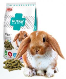 Krmivo Nutrin complete se zeleninou pro králíky 400g
