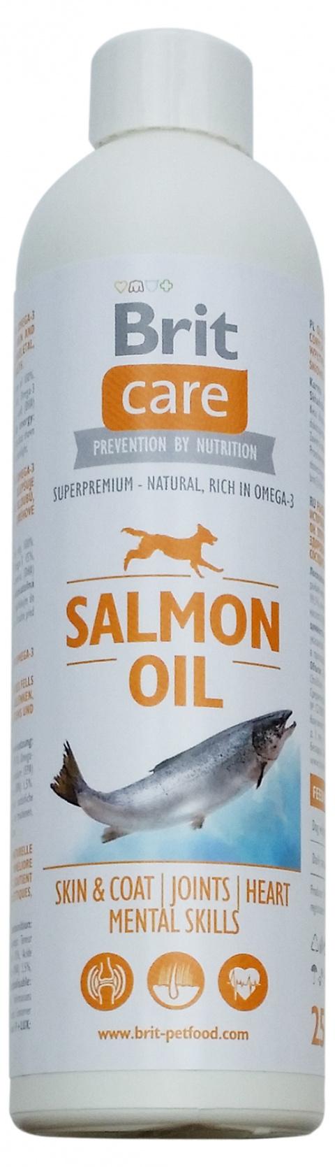 Lososový olej BRIT Care Salmon Oil 250ml title=
