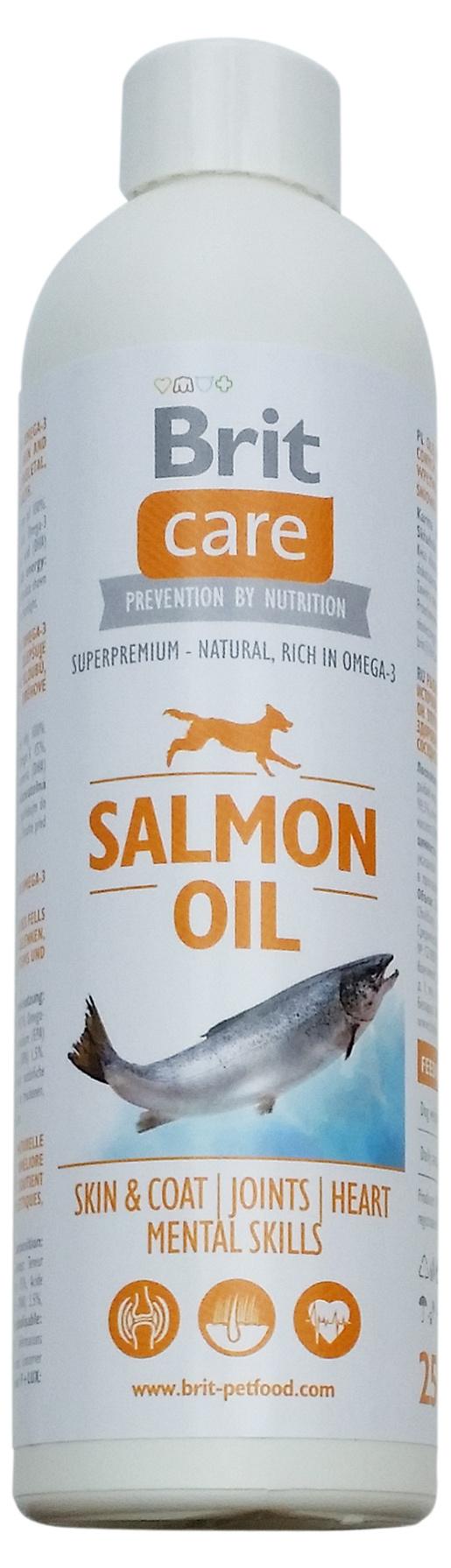 Lososový olej BRIT Care Salmon Oil 250ml