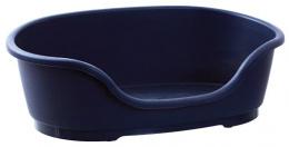 Pelíšek DOG FANTASY plastový tmavě modrý