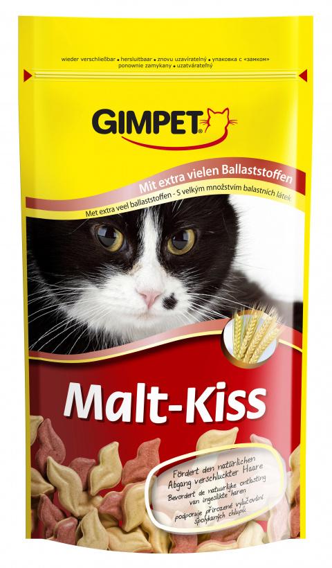 Pusinky s maltźou pro kočky GIMPET MALT KISS 50g