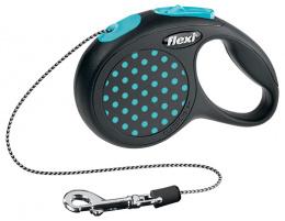 Vodítko Flexi Design lanko XS 3m modré