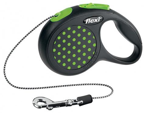 Vodítko Flexi Design lanko XS 3m zelené
