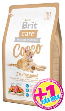 BRIT Care Cat Cocco I`am Gourmand 400g 1+1 zdarma