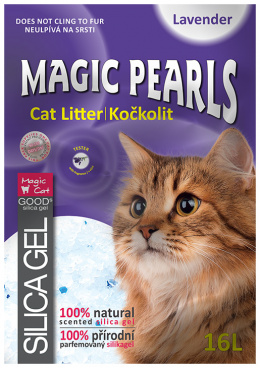 Kočkolit Magic Pearls Lavender 16l