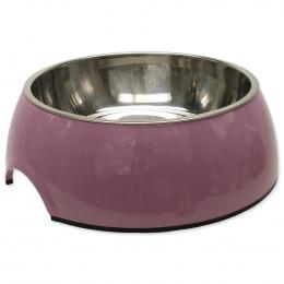 Miska DOG FANTASY nerezová kulatá růžová XL 1.4l