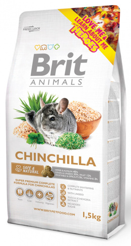 BRIT Animals CHINCHILA Complete 1,5kg