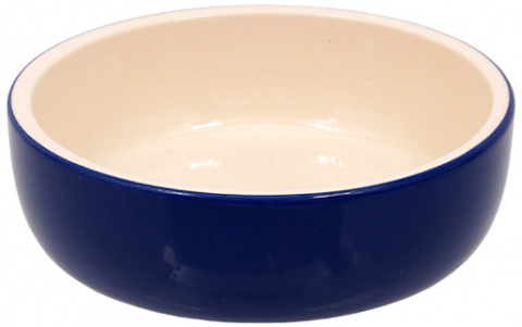 Miska MAGIC CAT keramická modrá 14,5 cm title=
