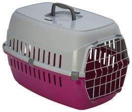 Přepravka Dog Fantasy Carrier 58x35x37cm růžová