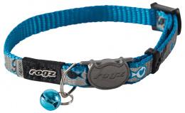 Obojek ROGZ ReflectoCat modrý XS