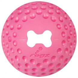 Hračka Rogz míček Gumz růžová M