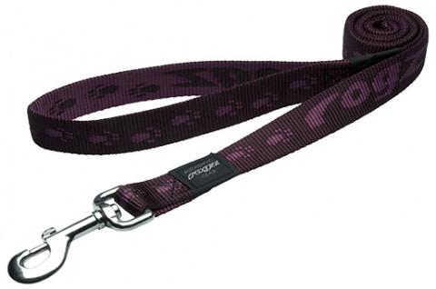 Vodítko Rogz Alpinist fialové M
