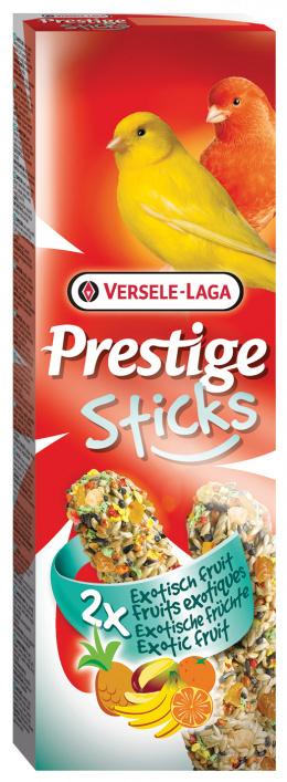 Tyčinky Prestige Exotic fruit pro kanáry 60g