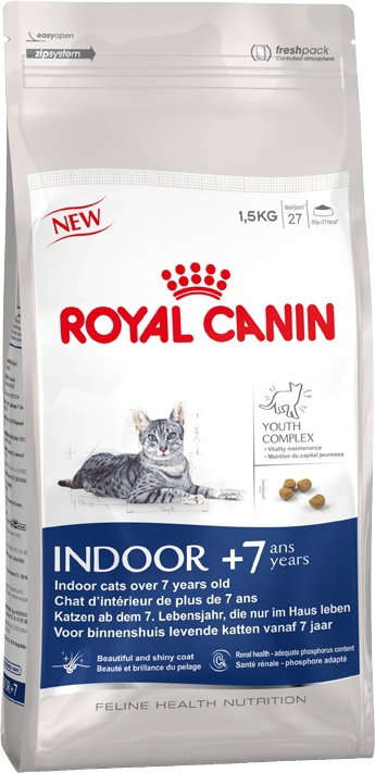 Royal Canin indoor 7+ years 1.5kg