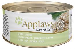 Konzerva Applaws Kitten kuře 70g