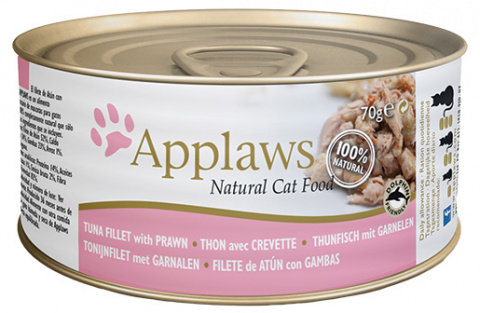 Konzerva Applaws Cat tuňák & krevety 70g title=