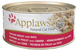 Konzerva Applaws Cat kuře & kachna 70g