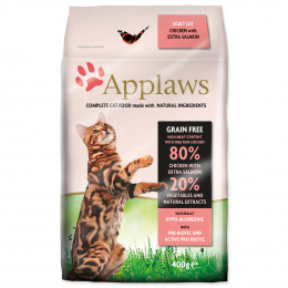 Krmivo Applaws Cat kuře & losos 400g