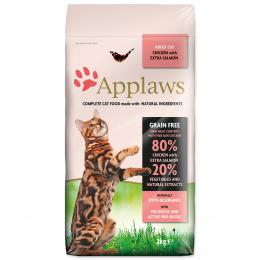 Krmivo Applaws Cat kuře & losos 2kg