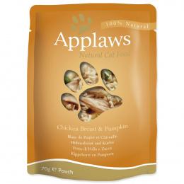 Kapsička Applaws Cat kuře & dýně 70g