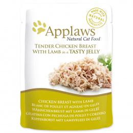 Kapsička Applaws cat kuře, jehně v želé 70g
