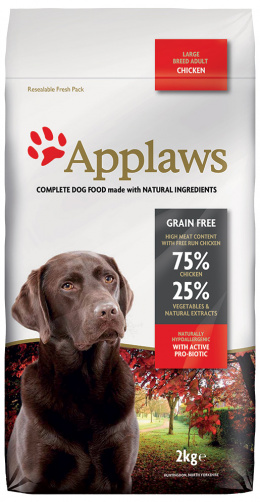 Krmivo Applaws Dry Dog Chicken Large Breed Adult 2kg