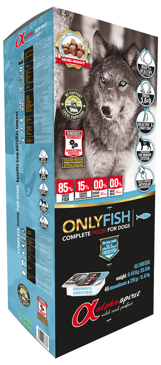 Krmivo Alpha Spirit Only Fish 9.5kg
