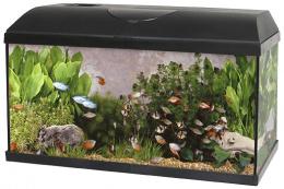 Akvárium set Pacific 60x30x30cm 54l se žárovkou 15W
