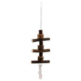 Hračka BIRD JEWEL závěsná dřevěná 48 cm